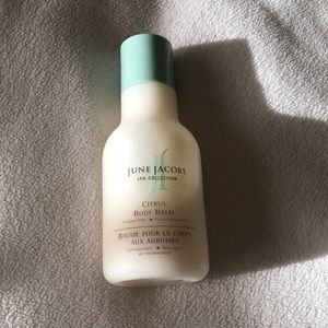 Other - June Jacobs spa collection citrus body balm